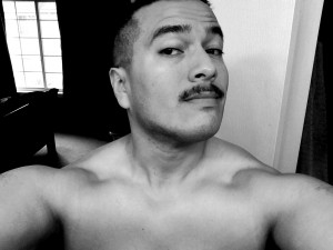 December 1st, 2014 - Yes... I feel weird with a 'stache.