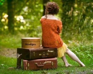 We all have baggage we need to carry.  The question is, will someone special come along who's selflessly willing to help you carry and unpack it one day?